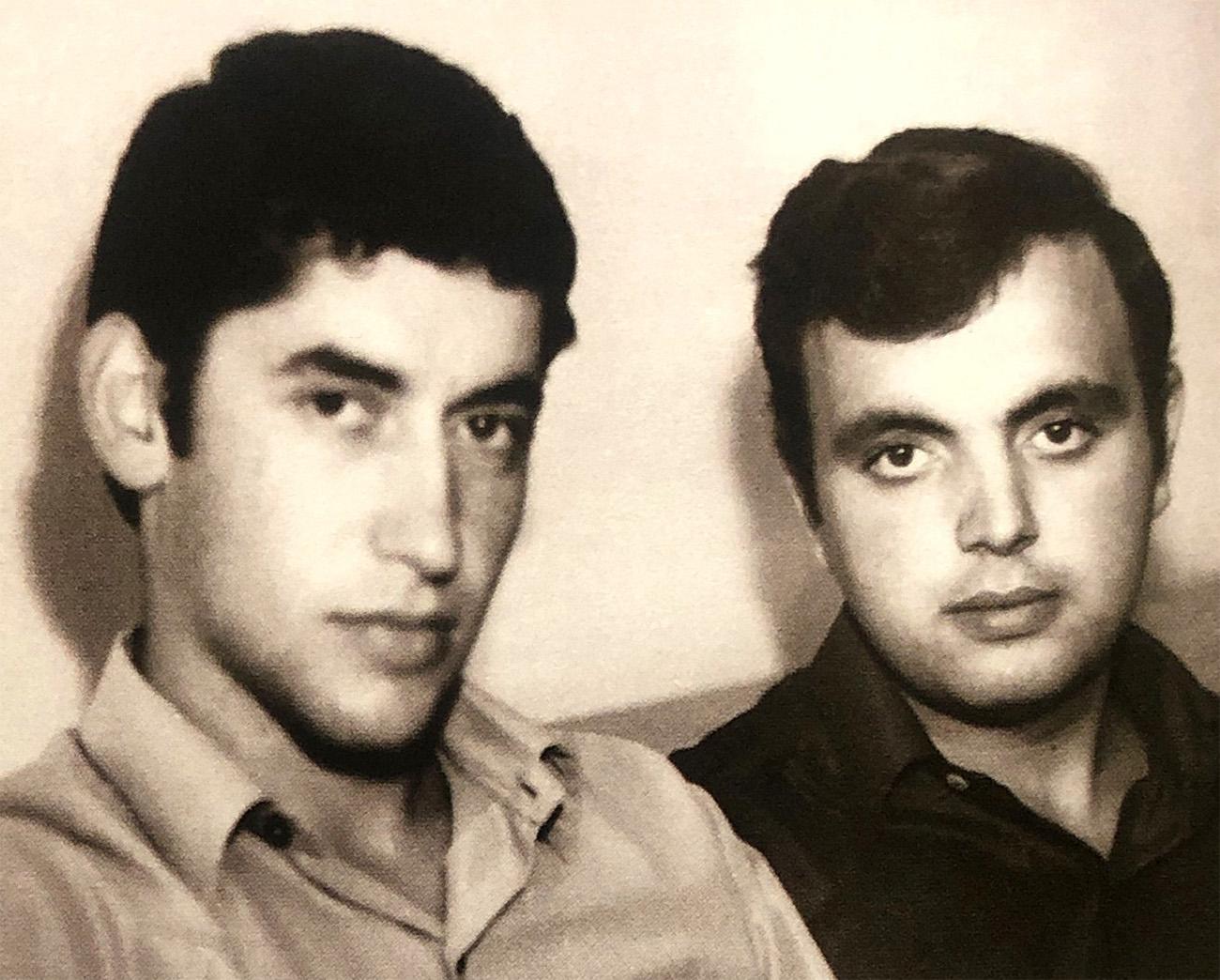 Владимир с братом Борисом