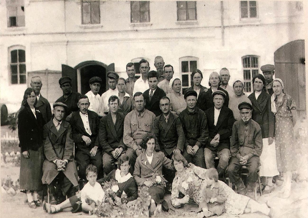 Работники завода. 1950-е годы