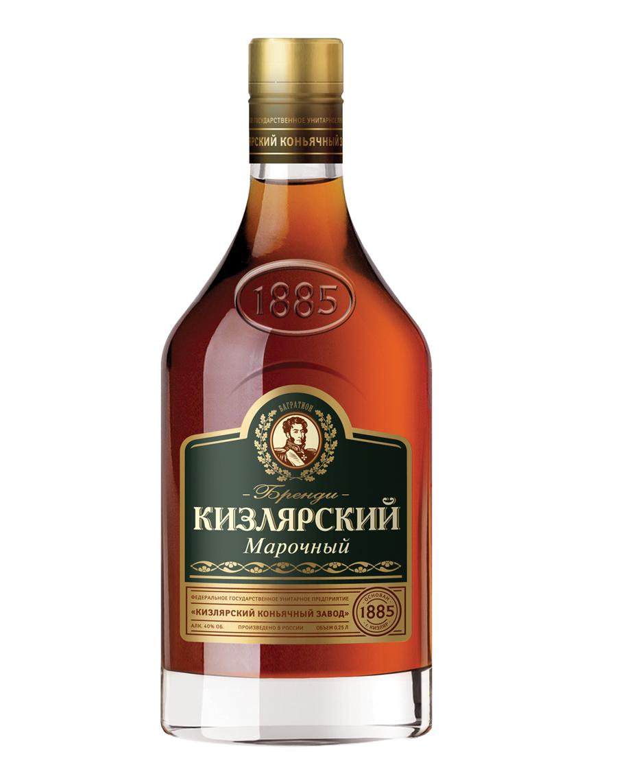Бренди Кизлярский Марочный 0,25