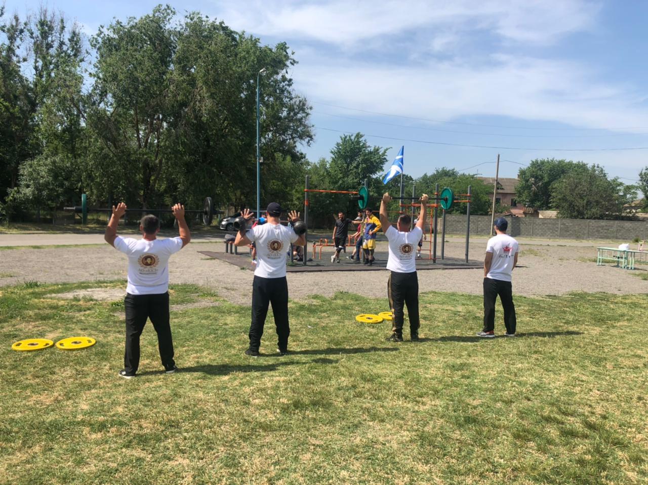 Работники ККЗ приняли участие в фестивале ГТО